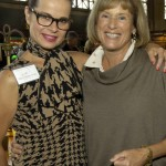 Associates Board members Mary Pfeifer Lentz and Julia Pfannenstiehl