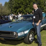 Guitar Center's Michael Carrillo and classic GT 350 speedster