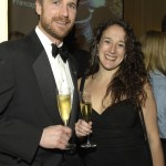 Michael Meagher and Kate Webber of the Boston Sommelier Society