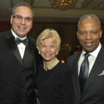 VNAB president & CEO Reynold Spadoni & honorees Sandra Fenwick and Ron Walker