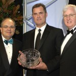 Gala dinner chairman Ron O'Hanley, honoree John Farrell & American Ireland Fund director Steve Greeley