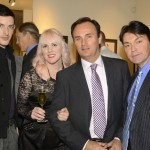 Luke Aaron, Samantha House, Edward Jacobs & William Raye