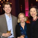 Alex & Laura Saltonstall with Stephanie Warburg