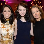 Honored guest Heather Quigley (center) with co-chairs Nancy Adams and Barbara Hawkins