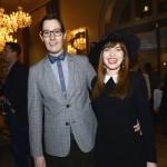 Brendan Ciecko and Elizabeth Dobrska