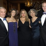 Ken Gloss, daughters Emily and Sonia, wife Joyce Kosofsky, and Eric Watz