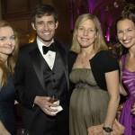 Sharon Schmitt, Christian and Heather Carrillo, and Associates director Ashley Harmon