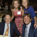 Jack & Suzy Welch with Dennis & Jennifer Eckersley