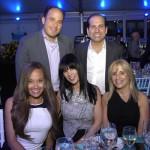 Matthew Fink and Alan Friedman with Melissa Bass, Kimberley Fink, and Joanie Friedman