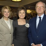 Honored guest Maureen Orth, center, with Anne Finucane & Mike Barnicle