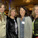 Guests Martha King, Beth Pfeiffer, Anne McNay and essay judge Diane Schmalensee