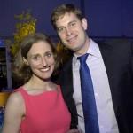 Spaulding arts consultant Charlotte Riggs and Matthew Tara