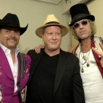 Backstage with Darrell Hammond (center), John Rich and Big Kenny Alphin of Big $ Rich