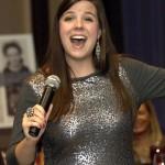 Soprano Abigail Krawson performs