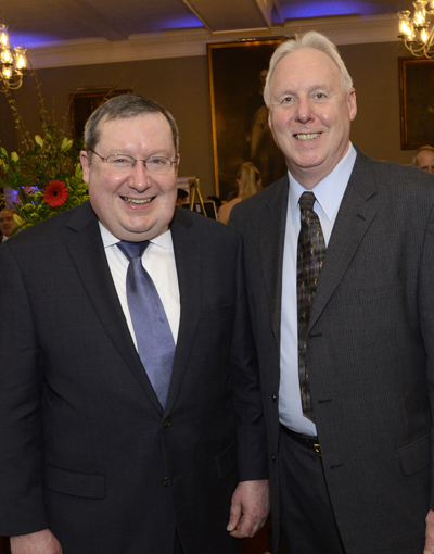 Gala co-chairs Gregory Bulger and Richard Dix