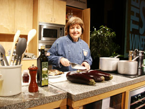 Noted television personality Mary Ann Esposito will be among the many celebrity chefs participating in this year's WGBH Food & Wine Festival. (File photo by Hilda M. Morrill)