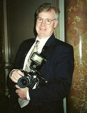Noted Boston photographer Roger Farrington. (File Photo (c) Hilda M. Morrill)