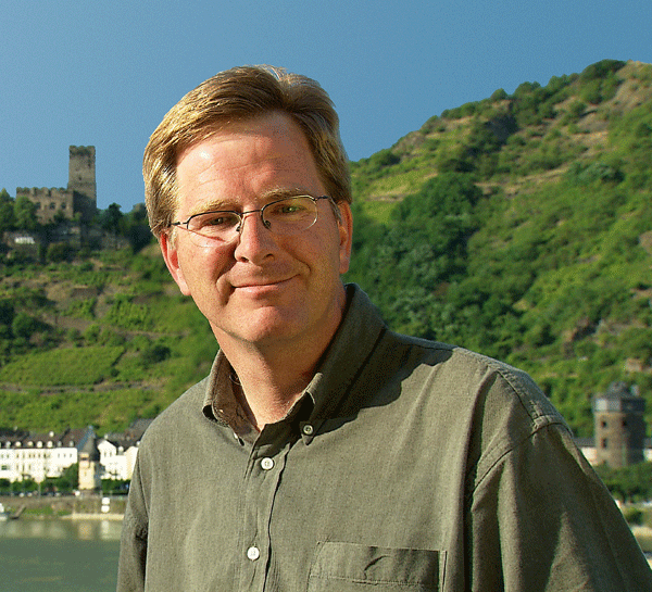 Travel Guru, Rick Steves, is among the 2019 Boston Pops performers/presenters. (Photo courtesy of Matthew Erikson, BSO)